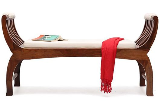 wooden bench online