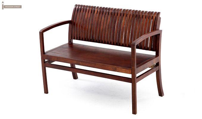 Morton Sofa Bench (Honey Finish)-12
