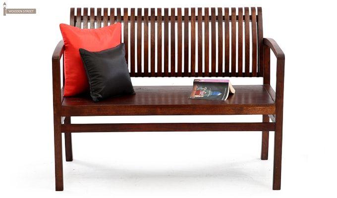 Morton Sofa Bench (Honey Finish)-2