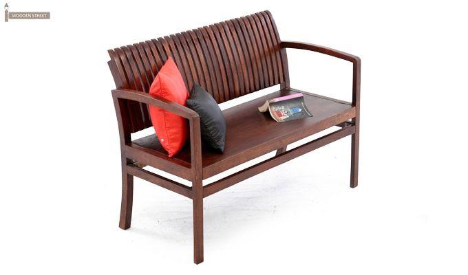 Morton Sofa Bench (Honey Finish)-3