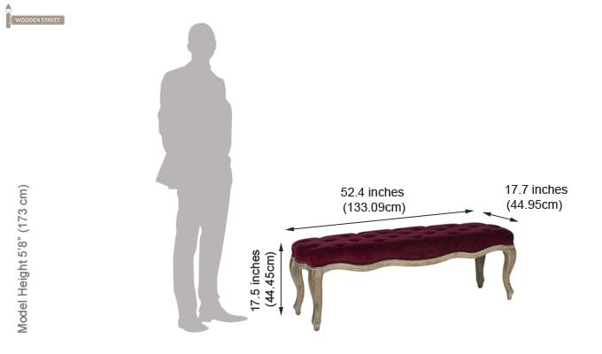 Quentin Bench (Maroon)-3