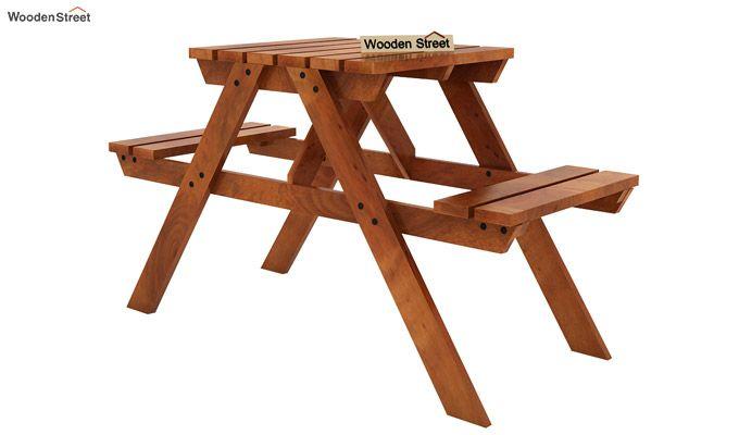 Soho Two Seater Bench (Honey Finish)-4