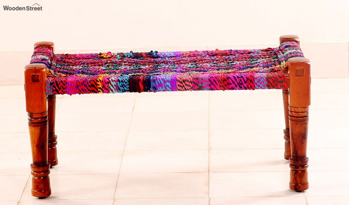 Welma Small Multicoloured Bench-3