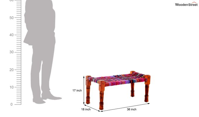 Welma Small Multicoloured Bench-6