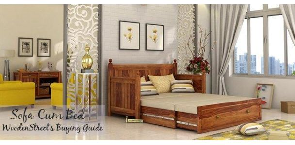 Bring Home The Perfect Sofa Cum Bed: A Buying Guide By Woodenstreet