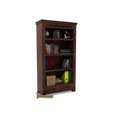 Adolph Book Shelves (Walnut Finish)