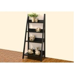 Donna Book Rack (Black Finish)