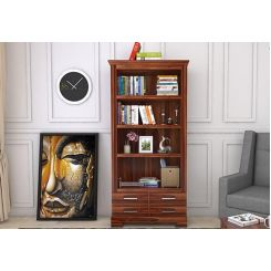 Fischl Bookshelf (Teak Finish)