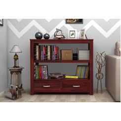 Greta Book Shelf (Mahogany Finish)