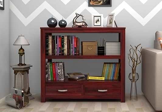 Wooden Bookshelves Online, Book shelf in India