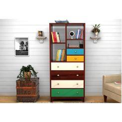 Hammons Bookshelf (Mahogany Finish)