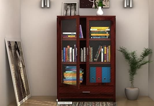 Buy Bookshelf online, Best bookshelves designs in Delhi, Hyderabad, Indore India