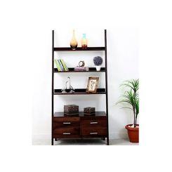Jeffery Bookshelf (Walnut Finish)