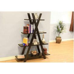 Lexia Bookshelf (Mahogany Finish)