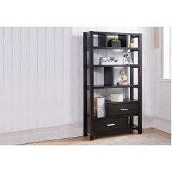 Lilian Bookshelves (Black Finish)