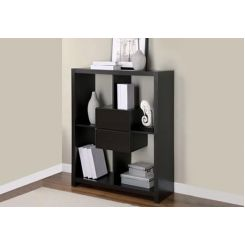 Lorain Book Rack (Black Finish)