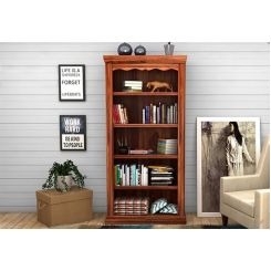 Nelson Bookshelf (Teak Finish)