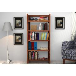 Osias Bookshelf (Teak Finish)