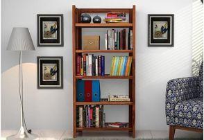 Wooden Bookshelf Online In Goa India