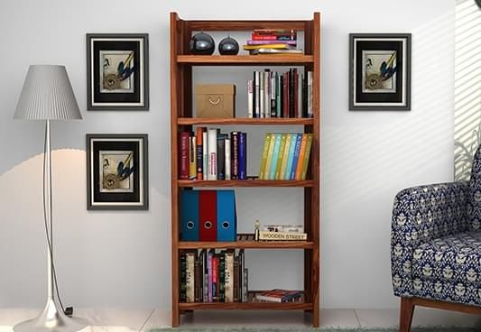 Wooden Bookshelf online in Goa India