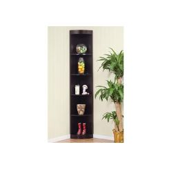 Sean Book Shelves (Black Finish)