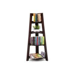 Severino Bookshelf (Mahogany Finish)