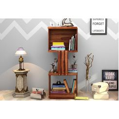 Sybil Bookshelf (Teak Finish)