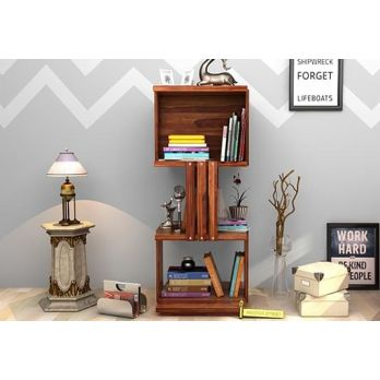 Wooden Book Shelves online Designs in India