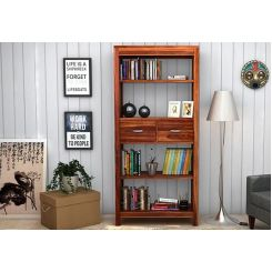 Vito Bookshelf (Teak Finish)