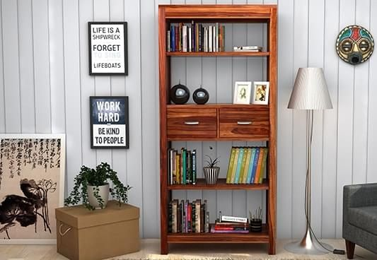 Bookshelves Buy Wooden Bookshelf Book Rack Online At Rs