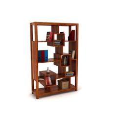 Welles Book Shelves (Honey Finish)