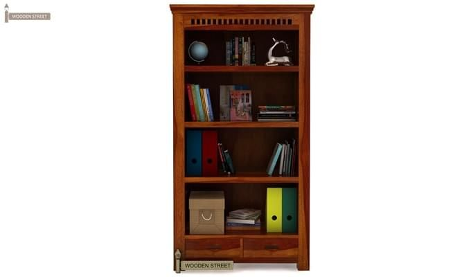 Adolph Book Shelves (Honey Finish)-3