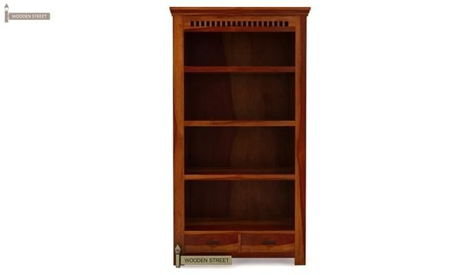 Adolph Book Shelves (Honey Finish)-4