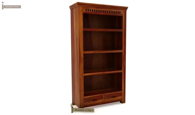 Adolph Book Shelves (Honey Finish)-5