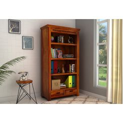 Adolph Book Shelves (Honey Finish)