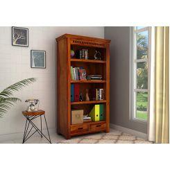 Adolph Book Shelves (Honey Finish)