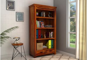 Bookshelf Online Buy Wooden Bookshelves In India 55 Off