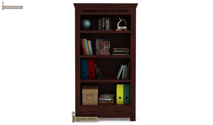Adolph Book Shelves (Mahogany Finish)-2