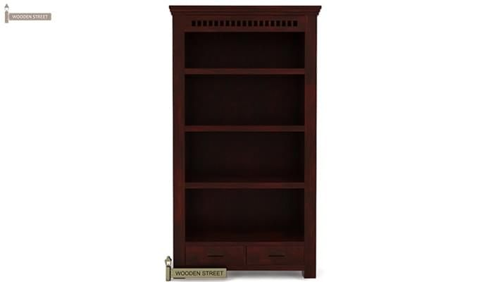 Adolph Book Shelves (Mahogany Finish)-3