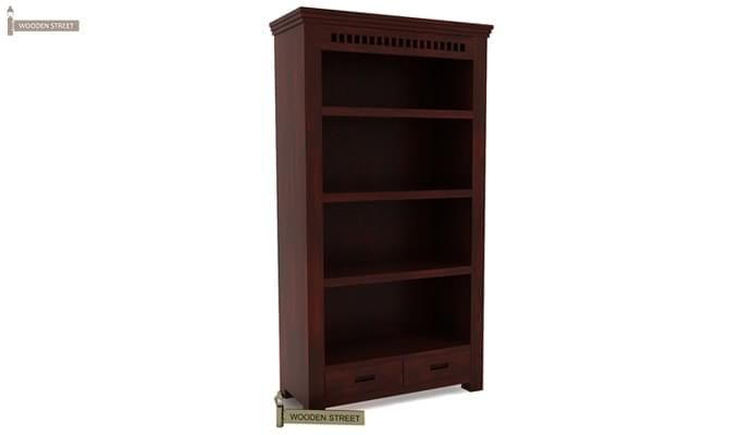 Adolph Book Shelves (Mahogany Finish)-4