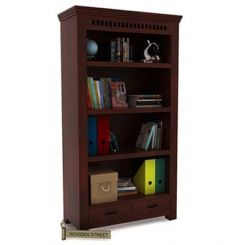 Adolph Book Shelves (Mahogany Finish)