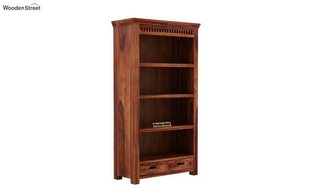 Adolph Book Shelves (Honey Finish)-2