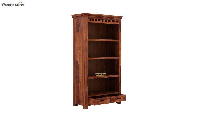 Adolph Book Shelves (Honey Finish)-4