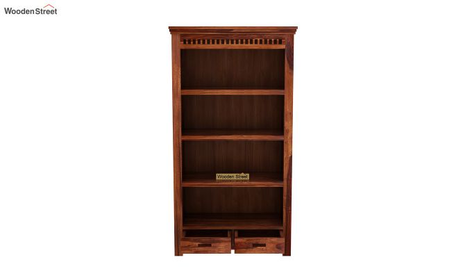 Adolph Book Shelves (Honey Finish)-5