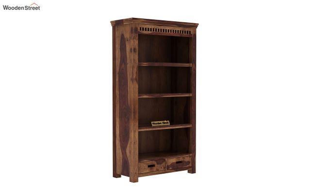 Adolph Book Shelves (Teak Finish)-2