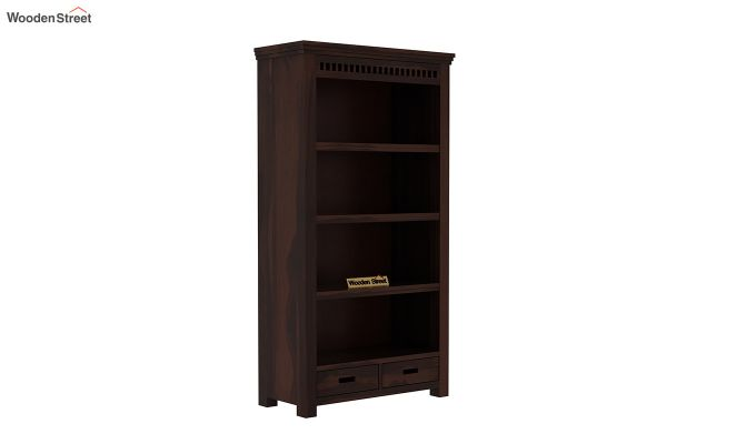Adolph Book Shelves (Walnut Finish)-2