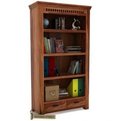 Adolph Book Shelves (Teak Finish)
