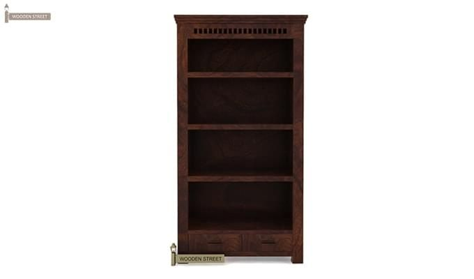 Adolph Book Shelves (Walnut Finish)-3