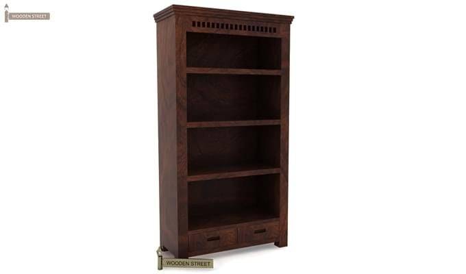 Adolph Book Shelves (Walnut Finish)-4