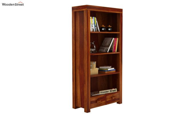 Anderson Book Shelf (Honey Finish)-2